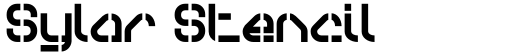Sylar Stencil