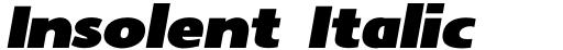 Insolent Italic