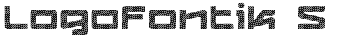 Logofontik Stripes 4F