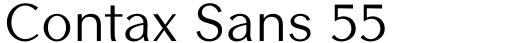 Contax Sans 55