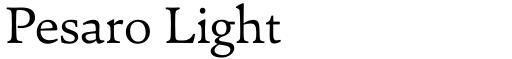 Pesaro Light
