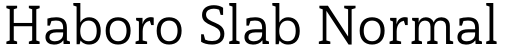 Haboro Slab Normal Regular