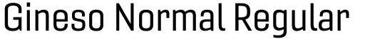 Gineso Normal Regular