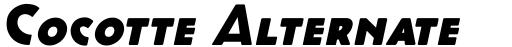 Cocotte Alternate Heavy Italic