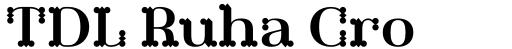 TDL Ruha Crown Semi Bold