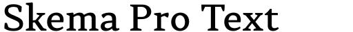 Skema Pro Text Medium