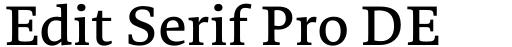 Edit Serif Pro DEMO