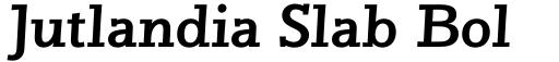 Jutlandia Slab Bold Italic