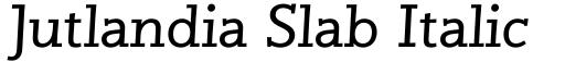 Jutlandia Slab Italic