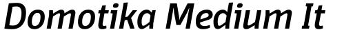 Domotika Medium Italic