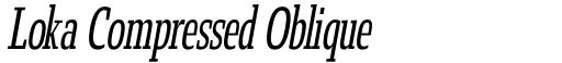 Loka Compressed Oblique