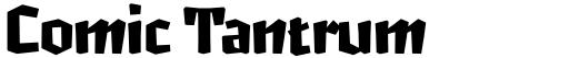 Comic Tantrum