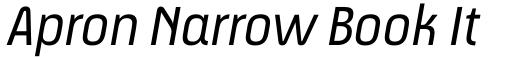 Apron Narrow Book Italic