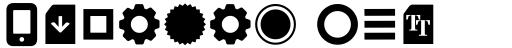 Aquawax Pro Pictograms Ultra Bold