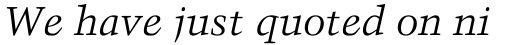 Trump Mediaeval Italic sample