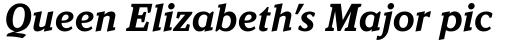 Kandal Bold Italic sample