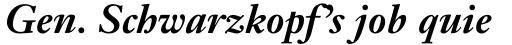 Janson Text 76 Bold Italic sample