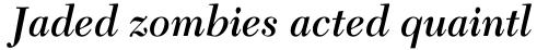 New Caledonia SemiBold Italic sample