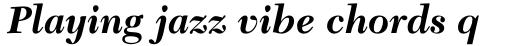 New Caledonia Bold Italic sample