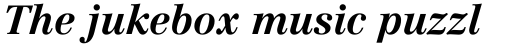 Linotype Centennial Std 76 Bold Italic sample