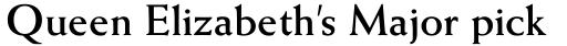 Weiss Bold sample