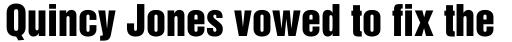 Helvetica Inserat sample