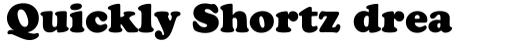 Cooper Black Headline sample
