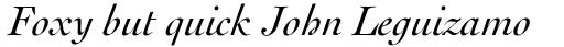 Cochin Italic sample