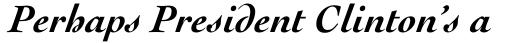 Cochin Bold Italic sample