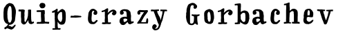 FF Handwriter Bold sample