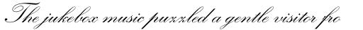 Kuenstler Script Bold sample