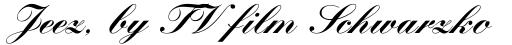 Kuenstler Script Black sample