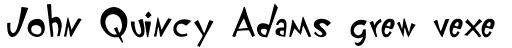 FF Klunder Script Roman sample