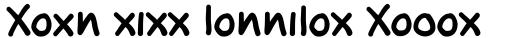 FF Oxmox Bold sample