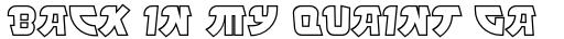 FF Manga Steel OT Outline sample