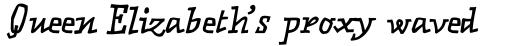 FF Matto OT Bold Italic sample
