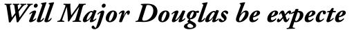 Adobe Garamond Bold Italic sample