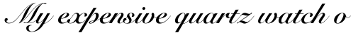 Snell Roundhand Bold Script sample