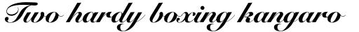 Snell Roundhand Black Script sample