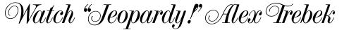 French Vanilla Swirl Italic sample