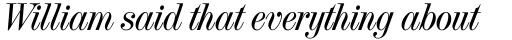 French Vanilla Italic sample