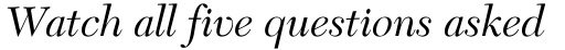 New Caledonia Italic Old Style Figures sample