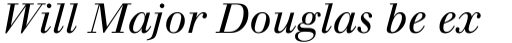 Walbaum Italic Oldstyle Figures sample