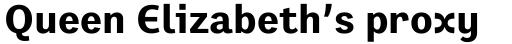 Preface Bold sample