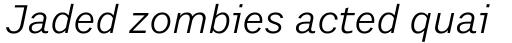 Preface Book Italic sample