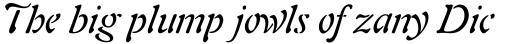 Auriol Italic sample