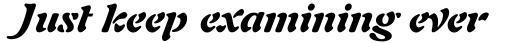 Auriol Black Italic sample