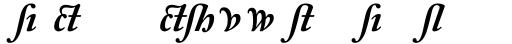 Adobe Caslon Bold Italic Alternate sample