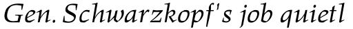 Hawkhurst Italic sample