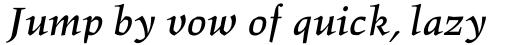 Hawkhurst Bold Italic sample